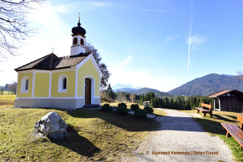 Kapelle Maria Rast in Krün